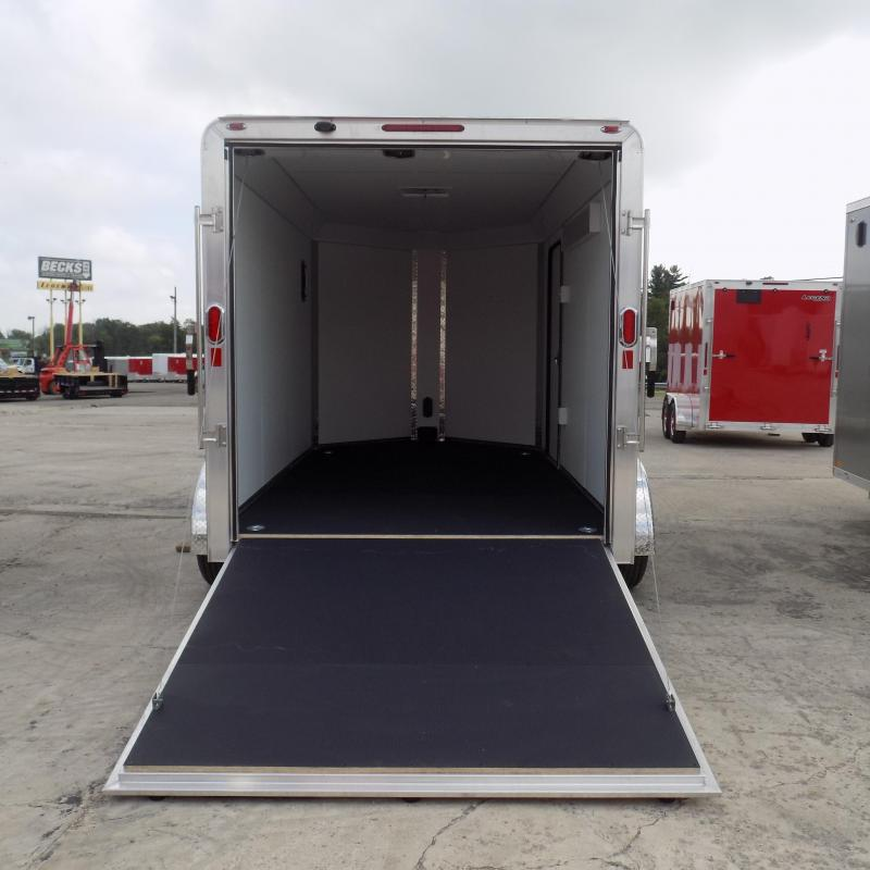 New Legend Deluxe V Nose 7' X 15' All Aluminum Cargo Trailer For Sale