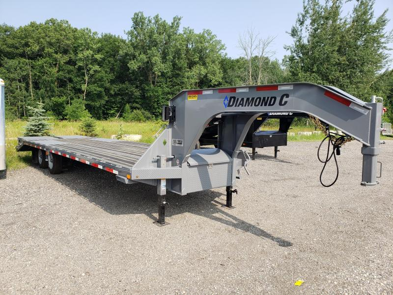 "New Diamond C Trailers 102"" x 30' Gooseneck Equipment Trailer W/ Blackwood Decking"