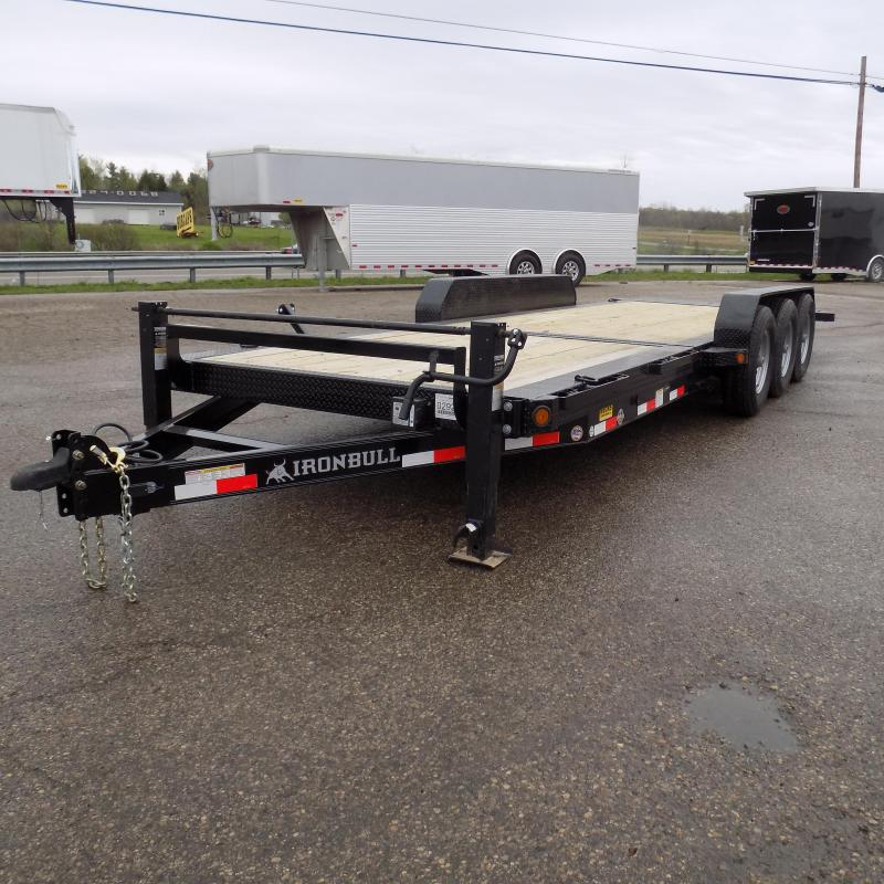 "New Iron Bull 83"" x 24' Triple Axle Tilt Deck Trailer"