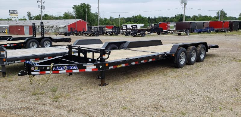 "New Load Trail TH14 83"" x 24' Tilt Deck Trailer - Triple Torsion Axle"
