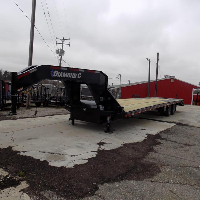 "New Diamond C 102"" x 35' Gooseneck Trailer With Max Ramps in Ashburn, VA"