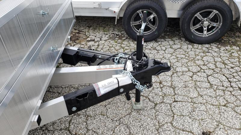 New Legend 7' x 24' Aluminum Open Car Hauler With 5200# Axles