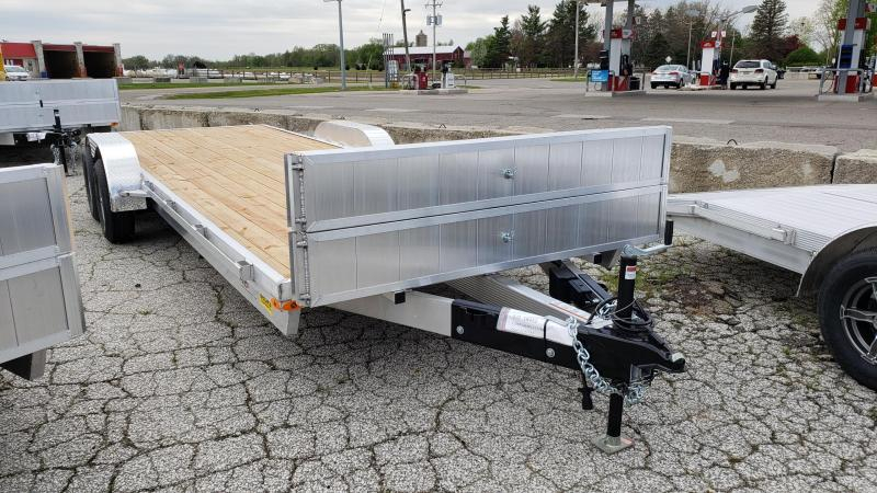 New Legend 7' x 24' Aluminum Open Car Hauler With 5200# Axles