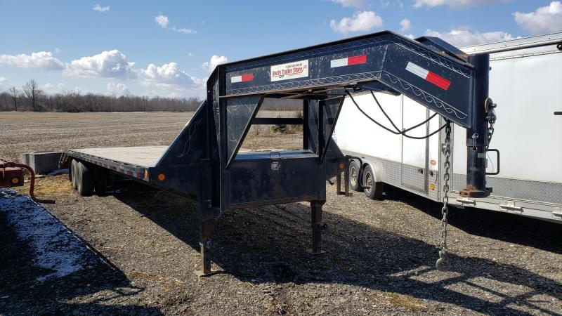 "Used Heavy Duty 102"" x 32' Equipment Trailer for Sale"