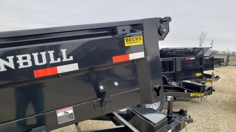"""New Iron Bull 83"""" x 12' Dump Trailer for Sale"""