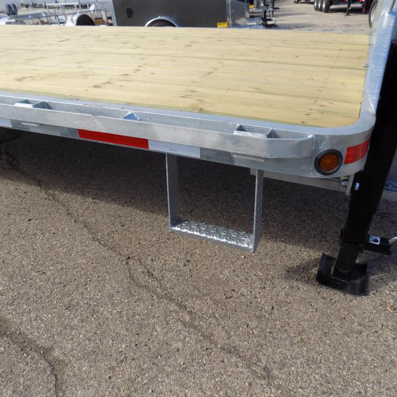 """New Galvanized 102"""" x 32' Gooseneck Trailer - Corrosion Resistant"""