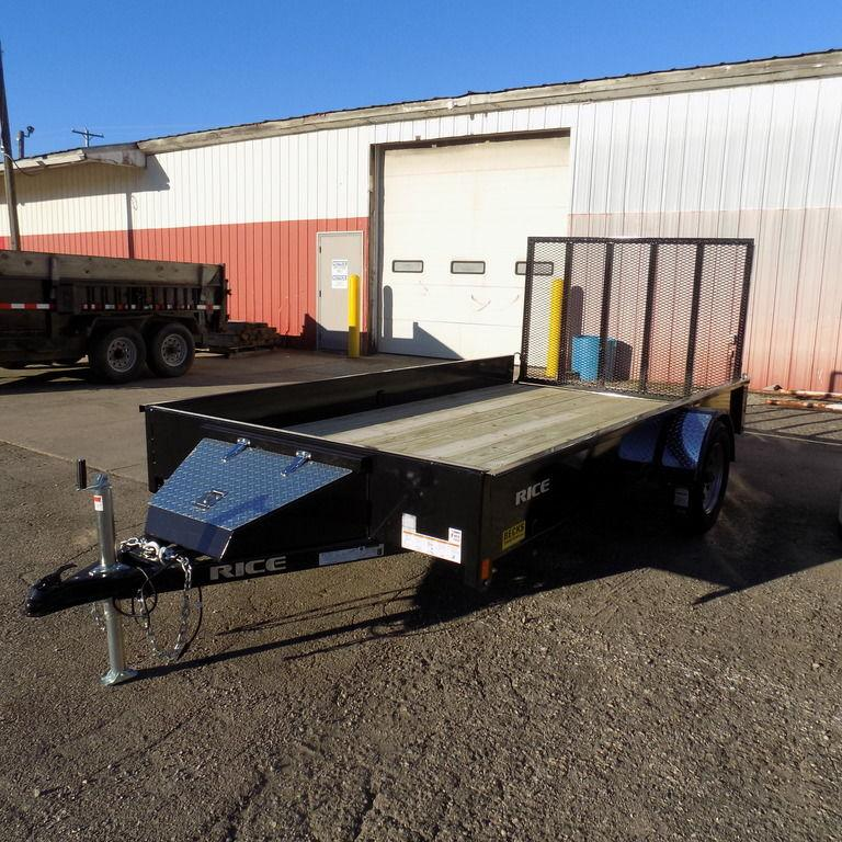 "New Rice Trailers Stealth 76"" x 12'"