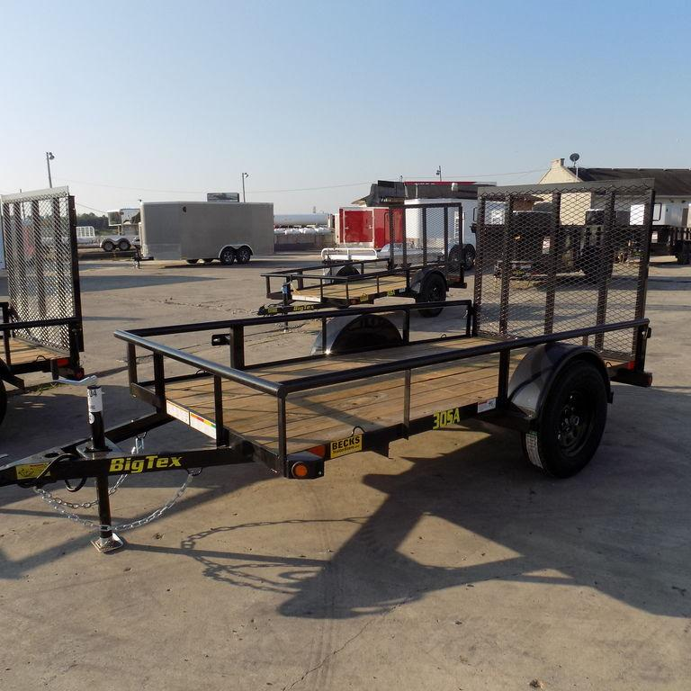 New Big Tex 5' x 10' Open Utility Trailer for Sale
