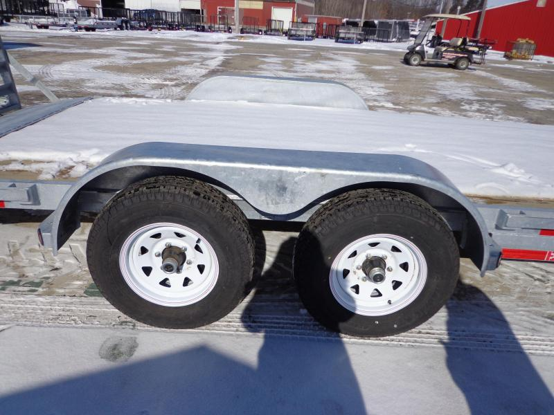 """New Galvanized 83"""" x 20' Open Car Hauler!! Easy Financing! CONTACT FOR BEST DEAL GUARANTEE"""