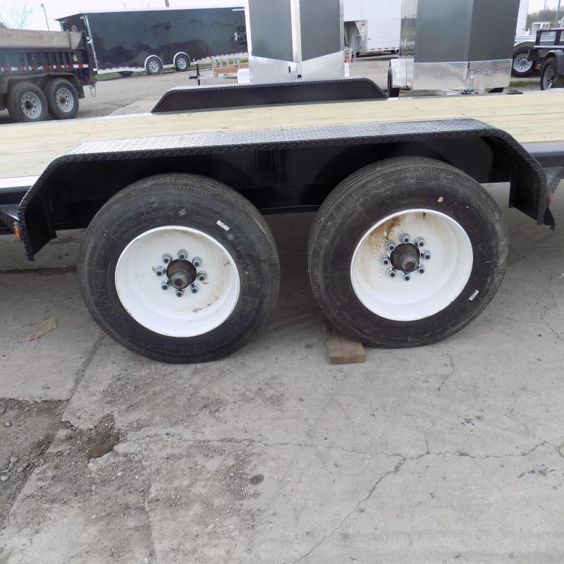 "New Load Trail 83"" x 22' Tilt Deck - 17.5K Weight Rating"