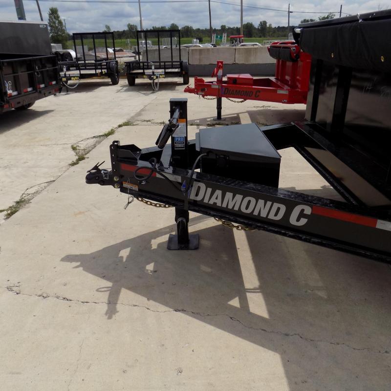 "New Diamond C Trailers 82"" x 14' Low Profile Dump Trailer For Sale"