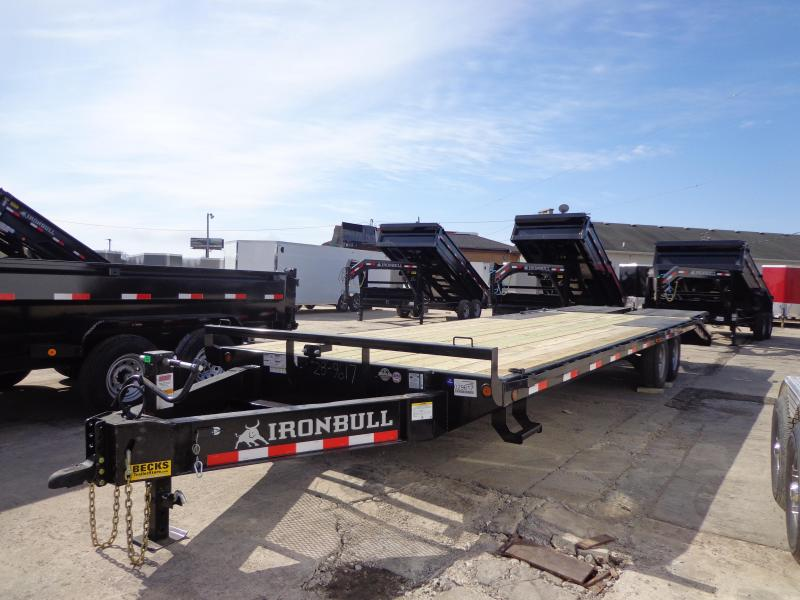 "New Iron Bull 102"" x 28' Deckover Trailer for Sale"