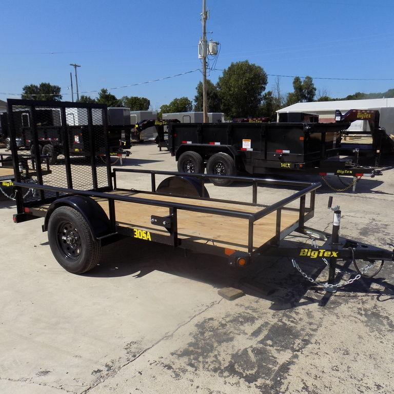 New Big Tex 5' x 10 OPen Utility Trailer for Sale