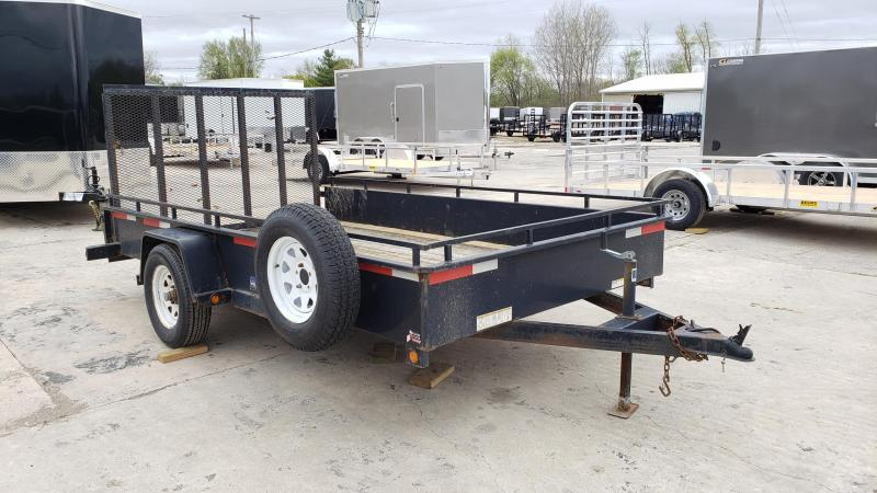 """Used Sure-Trac 82"""" x 12' Utility Trailer For Sale"""