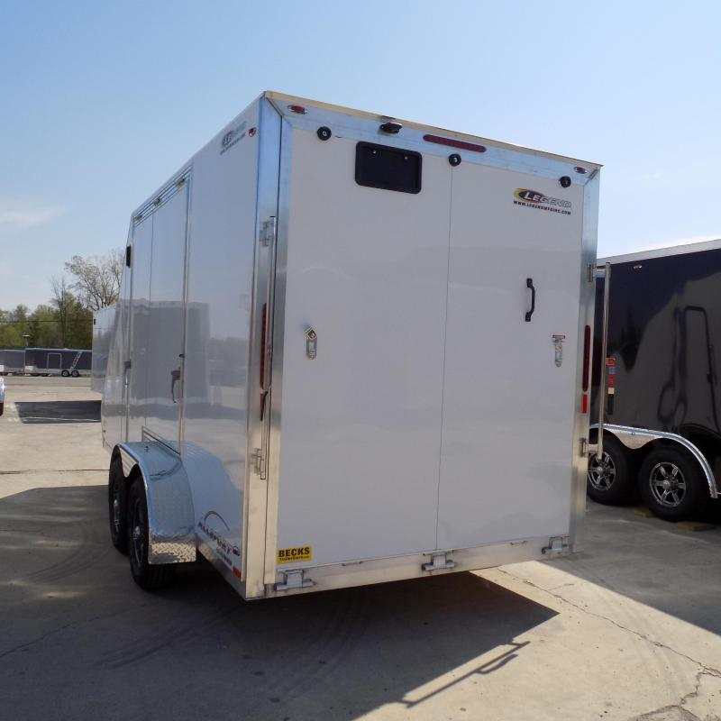New Legend All Sport 7' x 17' Aluminum Enclosed Trailer