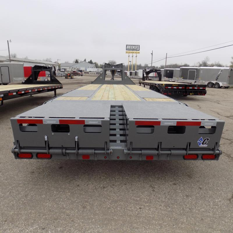 "New Diamond C Trailers 102"" x 30"" Gooseneck Trailer with MAX Ramps"