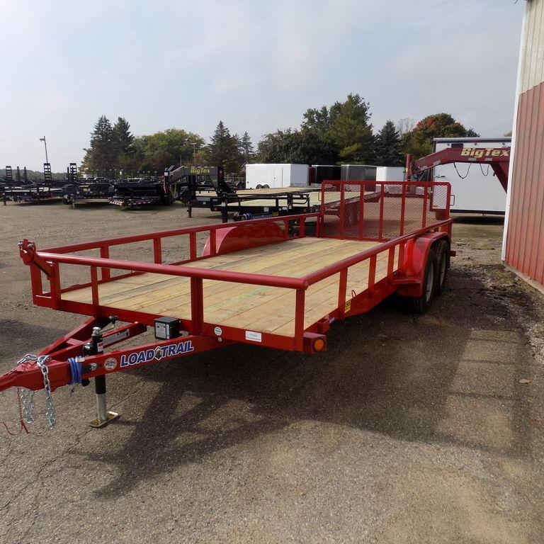 "New Load Trail UE07 83"" x 18' Open Utility Trailer for Sale"