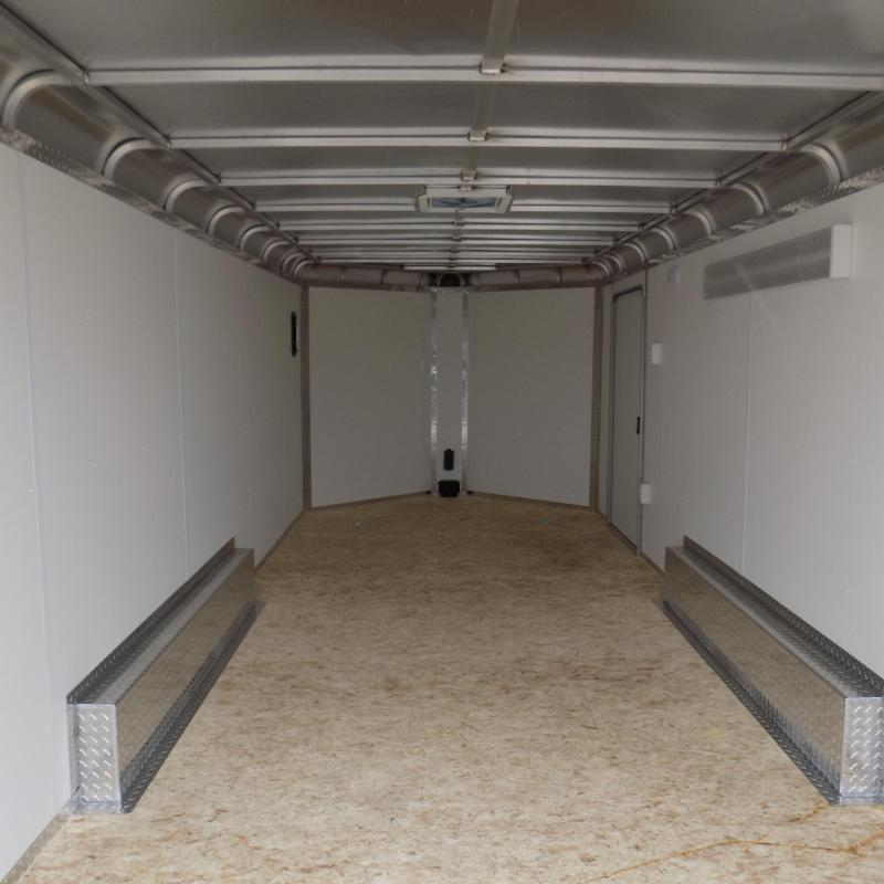 New Legend Deluxe V-Nose 8' x 21' Enclosed Cargo Trailer - Loaded With Features