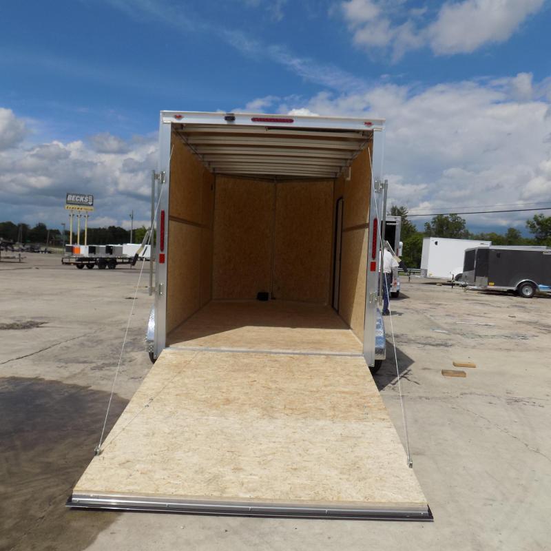 New Legend Thunder V Nose 7' X 14' Aluminum Enclosed Cargo Trailer For Sale