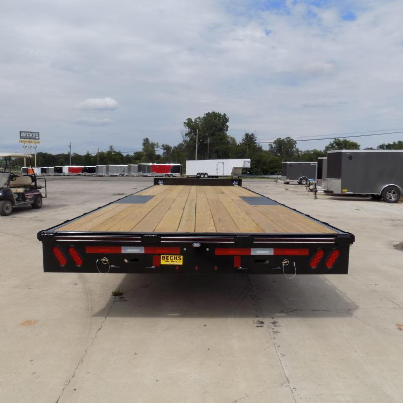 "New Diamond C Trailers 102"" x 24' Deckover Equipment Trailer For Sale"