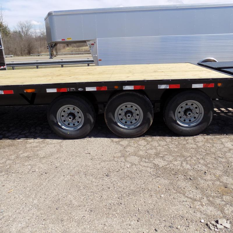 """New Load Trail PH21 102"""" x 28' Triple Axle Flatbed Trailer - Pintle"""