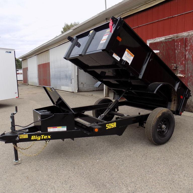 New Big Tex 5' x 8' Dump Trailer for Sale