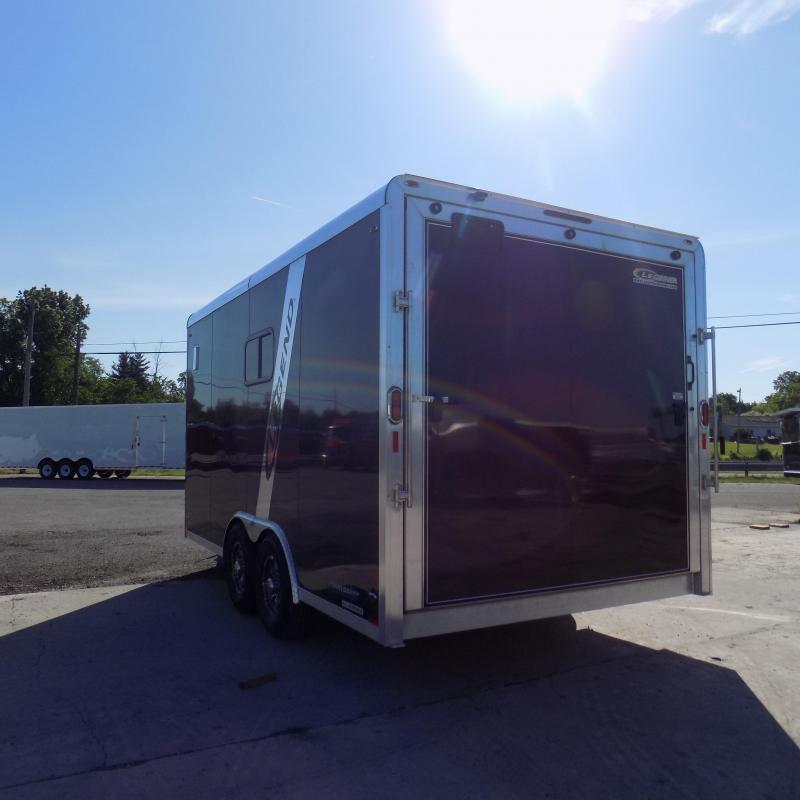 New Legend Trailmaster 8.5' x 16' Flat Front Enclosed Trailer For Sale