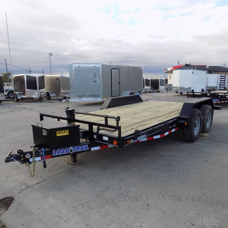 "New LOAD TRAIL CH14 83"" x 16' Open Car Hauler"