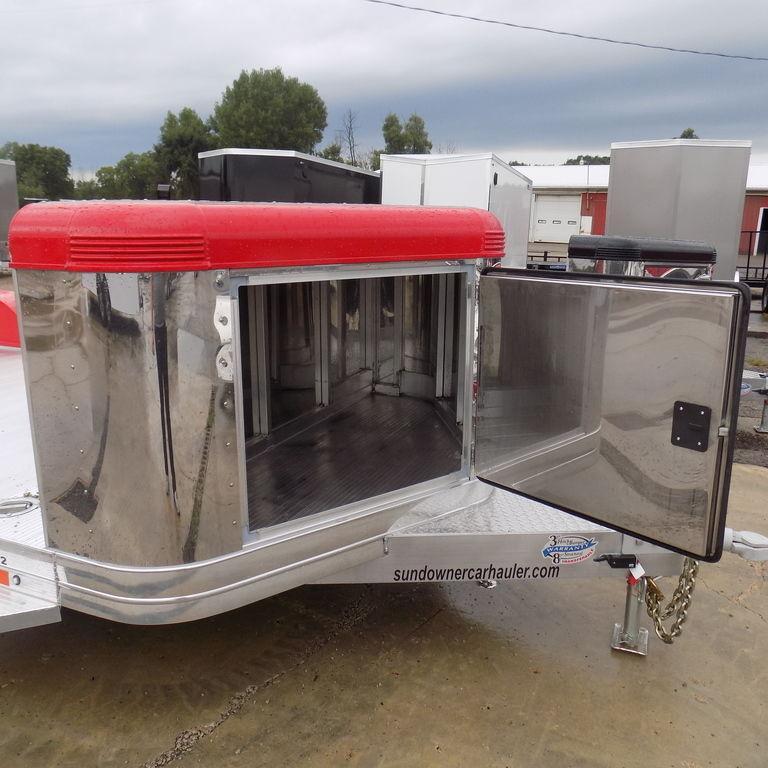 New Sundowner ULTRA 22' AluminumOpen Car Hauler