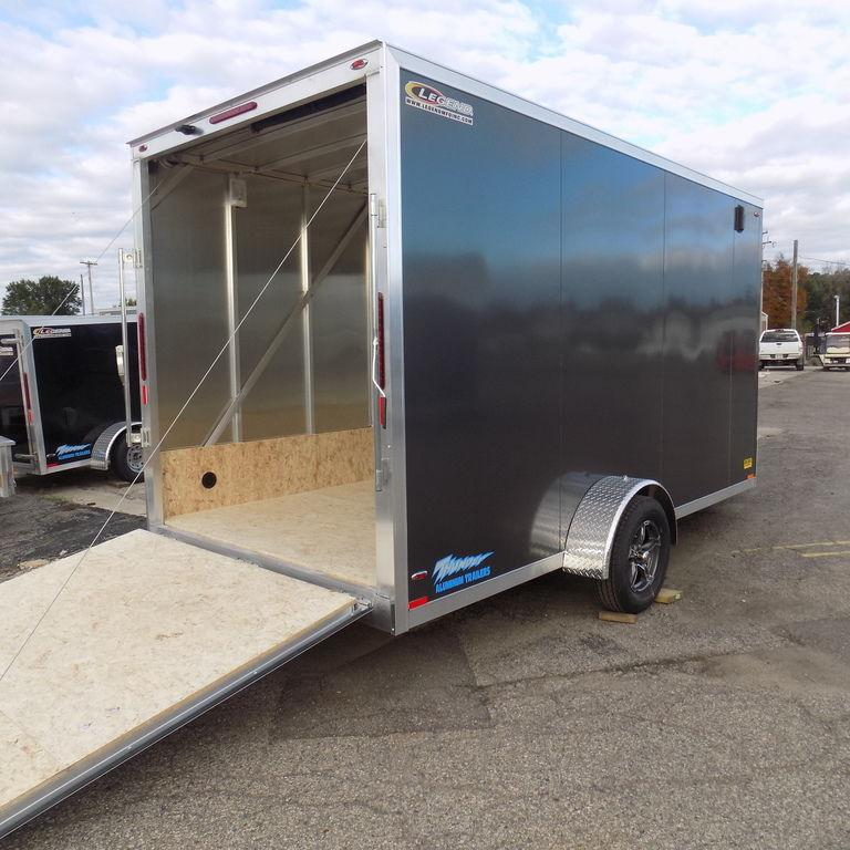 New Legend Thunder Snow 7' x 19' Snowmobile Trailer for Sale