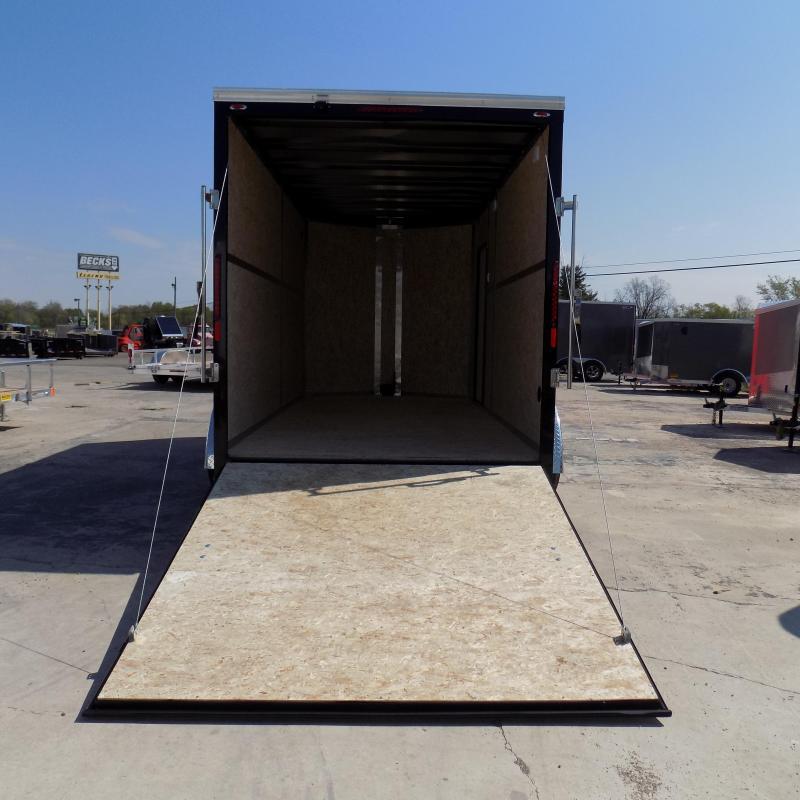New Legend Cyclone 7' x 16' Enclosed Cargo Trailer - 5200# Axles