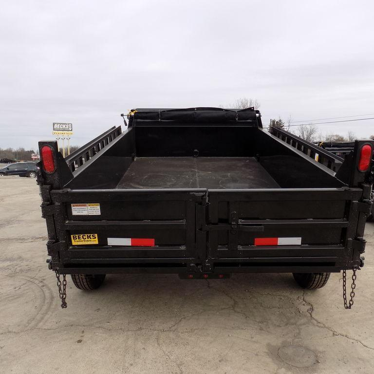 New DuraDump 6' x 10' Contractor Dump Trailer