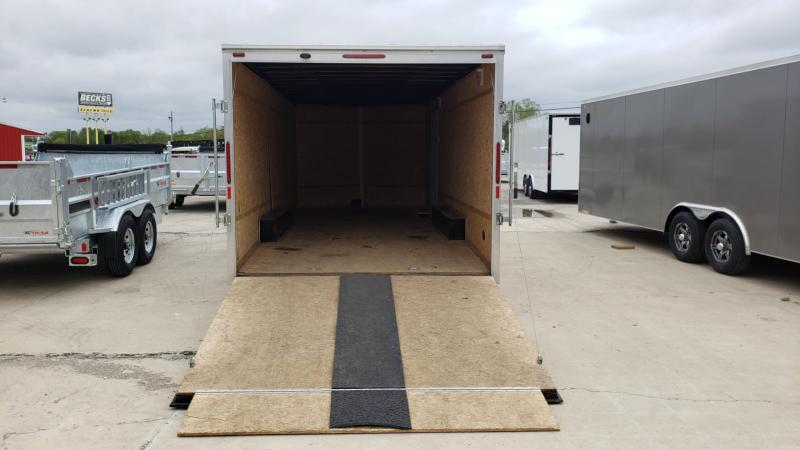 Used Cyclone 8.5' x 21' Enclosed Cargo Trailer For Sale