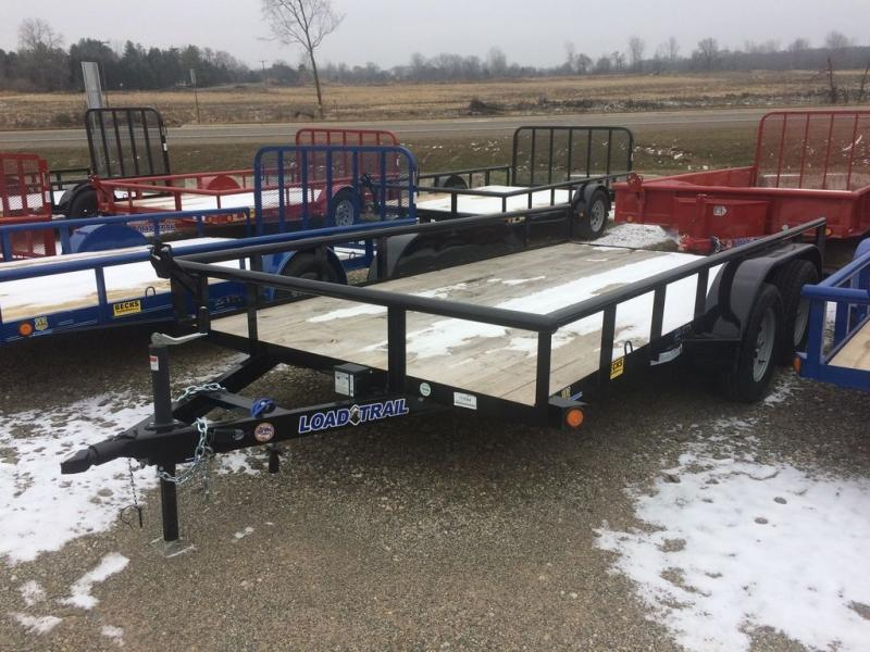 """New Load Trail UE07 83"""" x 14' Open Utility Trailer For Sale"""