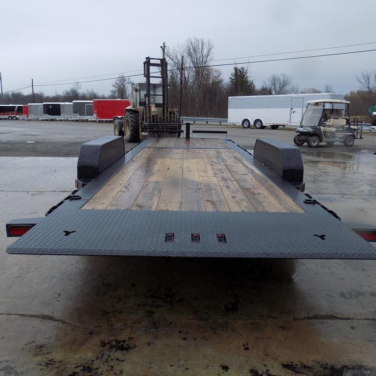 New Iron Bull TLB16 24' Tilt Deck Trailer with 8K Axle Upgrade