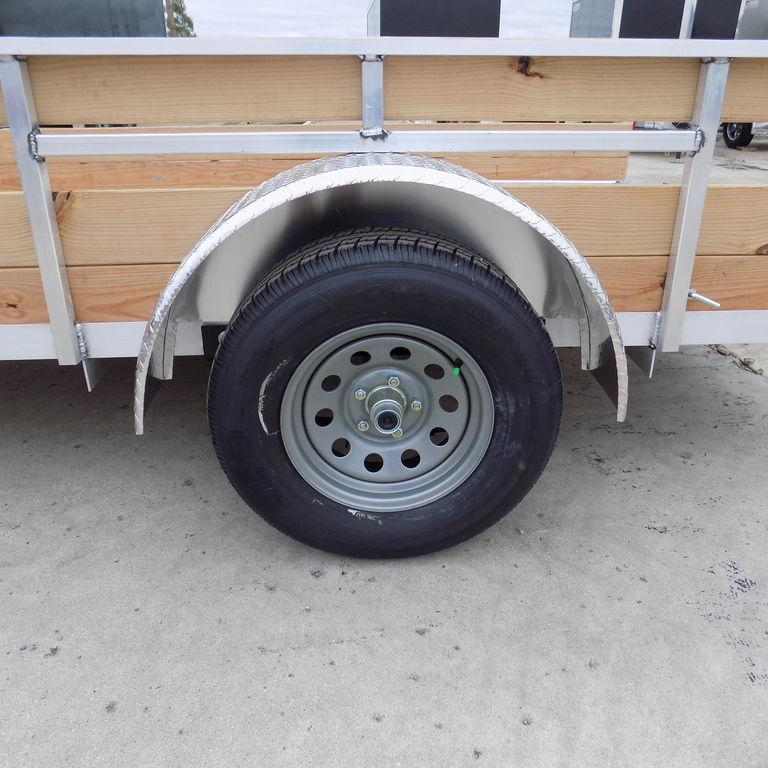 New Legend 6' x 12' 3 Board High Side Aluminum Utility Trailer