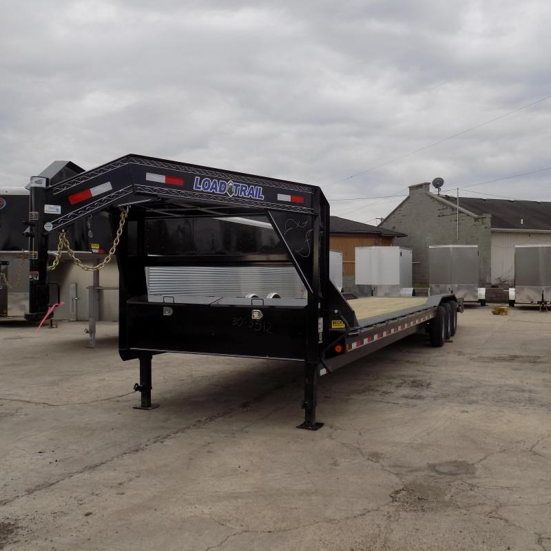 "New Load Trail 102"" x 36' Gooseneck Car / Equipment Trailer"