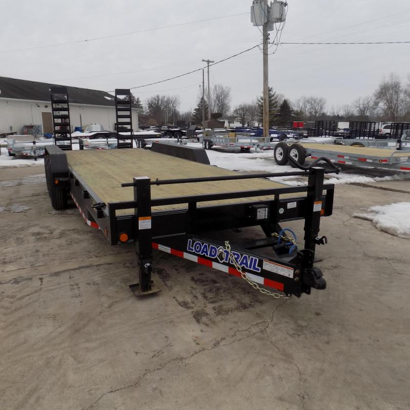 "New Load Trail 83"" x 24' Car Hauler / Equipment Trailer - Triple Axle"