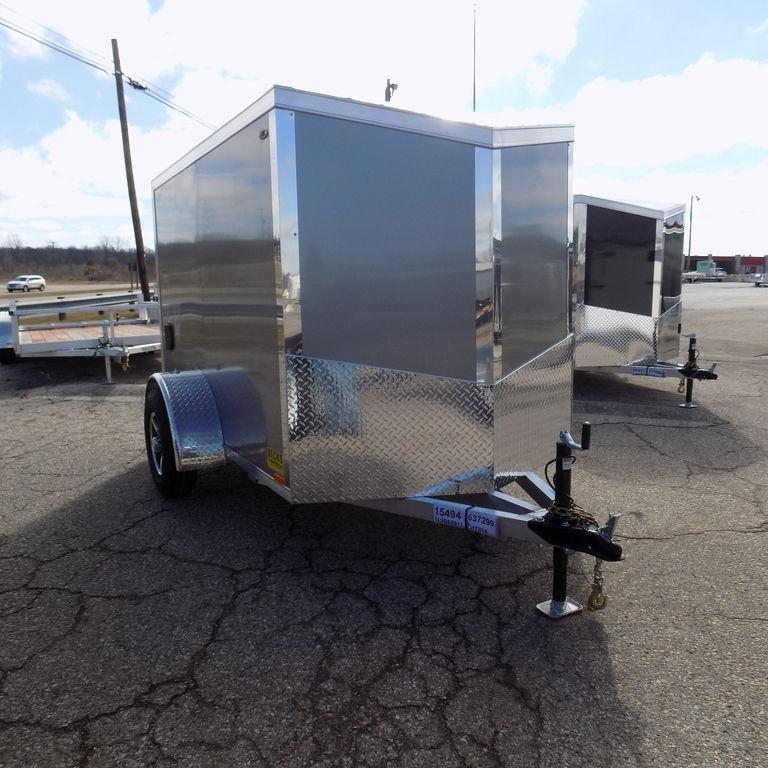 New Legend Explorer 5' X 9' Aluminum Enclosed Cargo Trailer For Sale