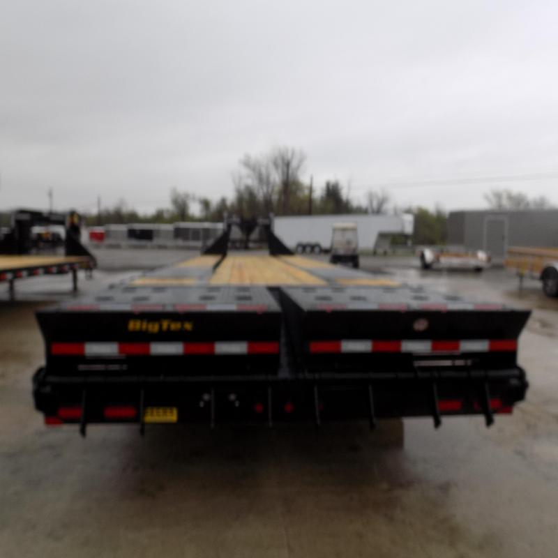 "Big Tex 102"" x 28' + 5' Gooseneck Trailer With Mega Ramps"