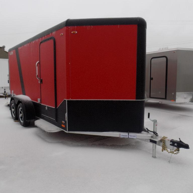 New Legend Trailers Deluxe V Nose Cargo 7X17DVNTA