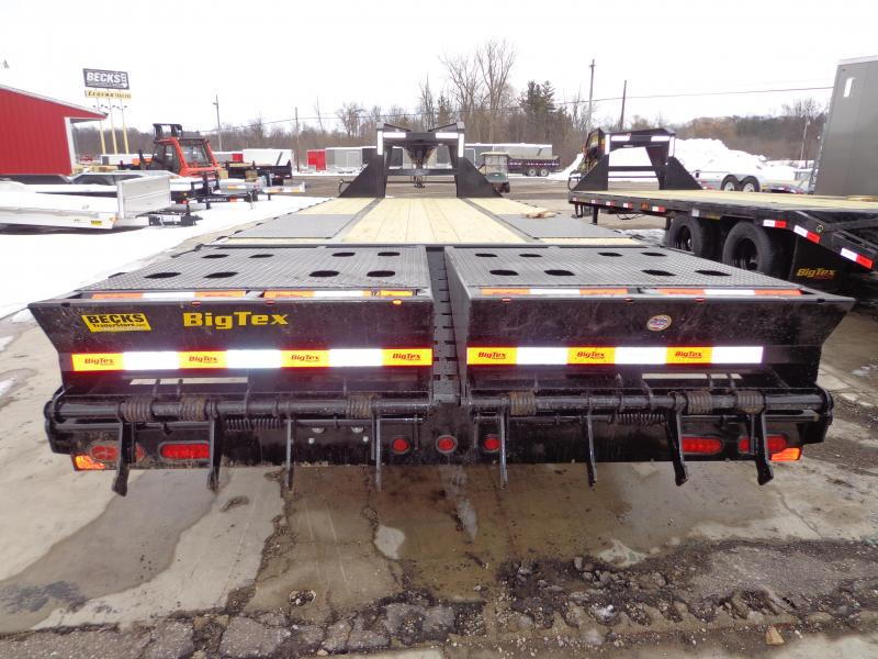 "Big Tex 102"" x 20' + 5' Gooseneck Equipment Trailer"