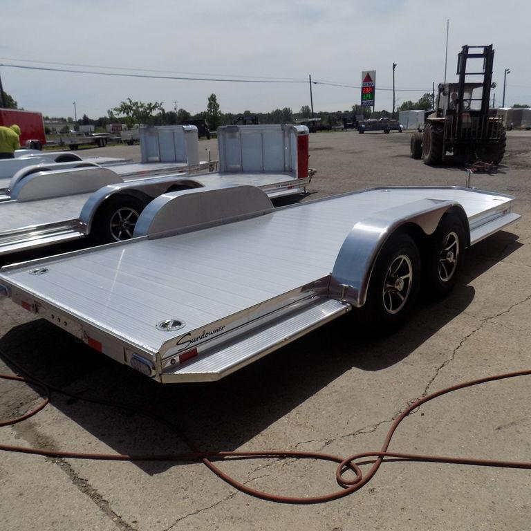 New Sundowner Trailers 20' Aluminum Open Car Hauler