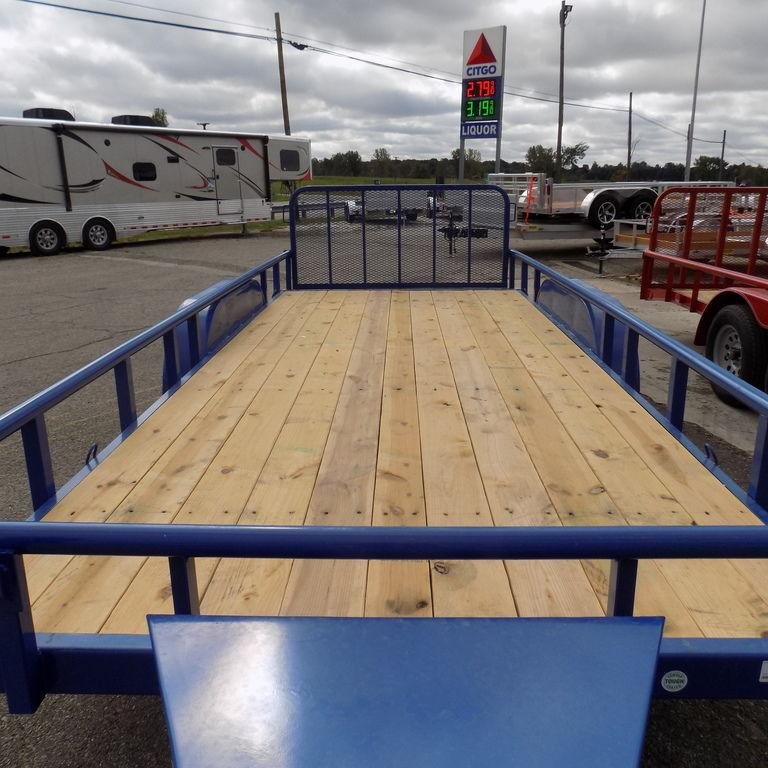 """New Load Trail UT 83"""" x 18' Open Utility Trailer for Sale - Payments $122/mo."""