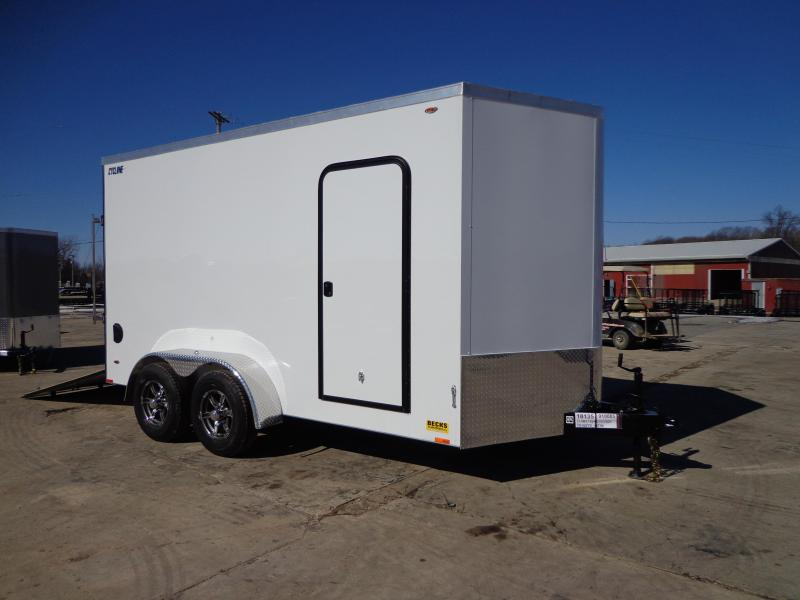 New Legend Cyclone 7' x 16' Enclosed Cargo Trailer - 5200# Axles