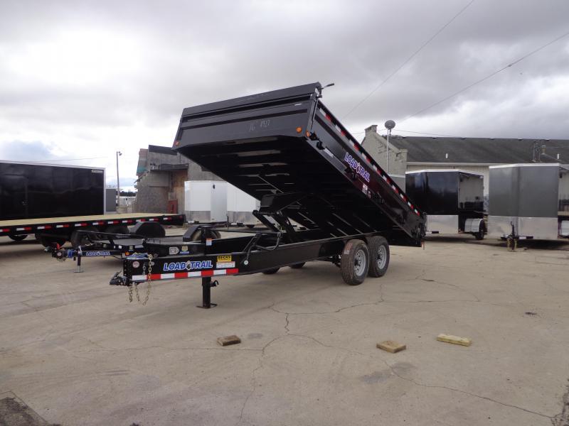 "New Load Trail 96"" x 14' Deckover Dump Trailer for Sale"