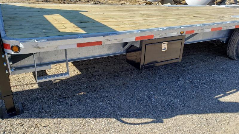 """New Galvanized 102"""" x 20' + 5' Gooseneck Trailer - Corrosion Resistant"""