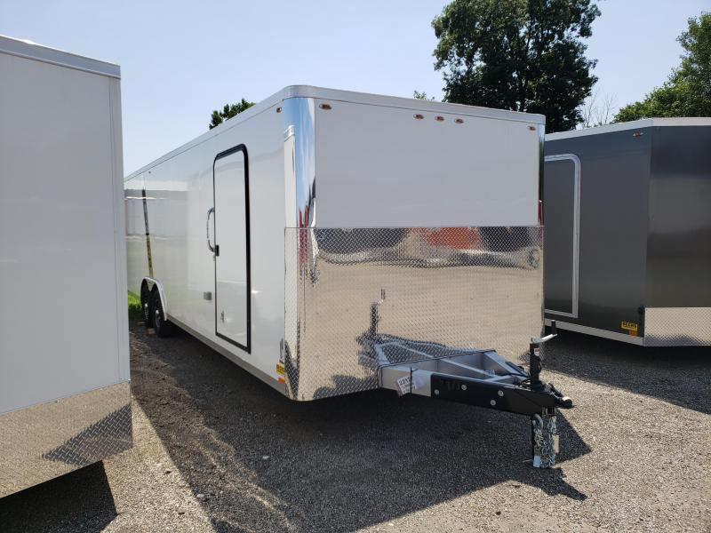 New Legend Trailmaster Flat Front 8.5' x 28' Aluminum Enclosed Car Trailer