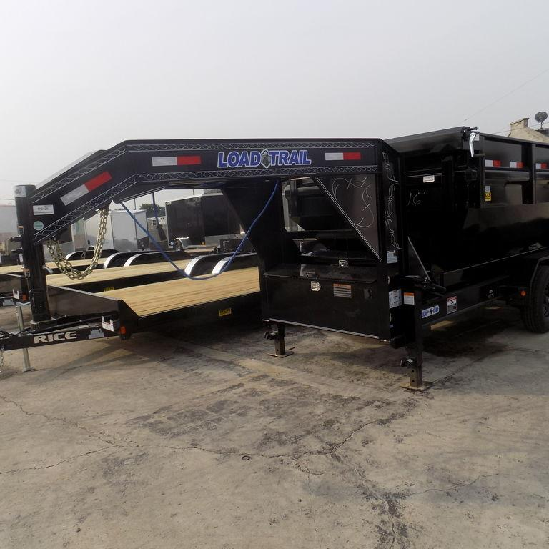 "New Load Trail GM14 83"" x 16' Triple Axle Gooseneck Dump Trailer for Sale"