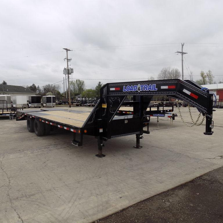 """New Load Trail GP22 102"""" x 20' + 5' Gooseneck Trailer - 22K Weight Rating"""